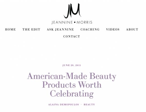 American-Made Beauty Products Worth Celebrating