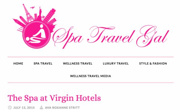 The Spa at Virgin Hotels
