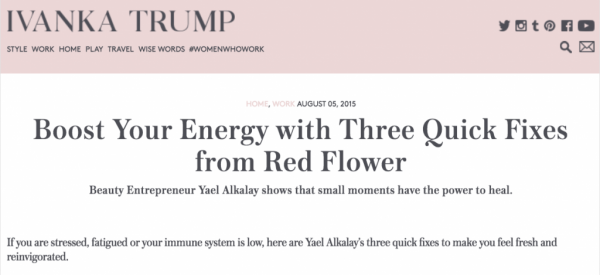 Boost Your Energy with Three Quick Fixes from Red Flower