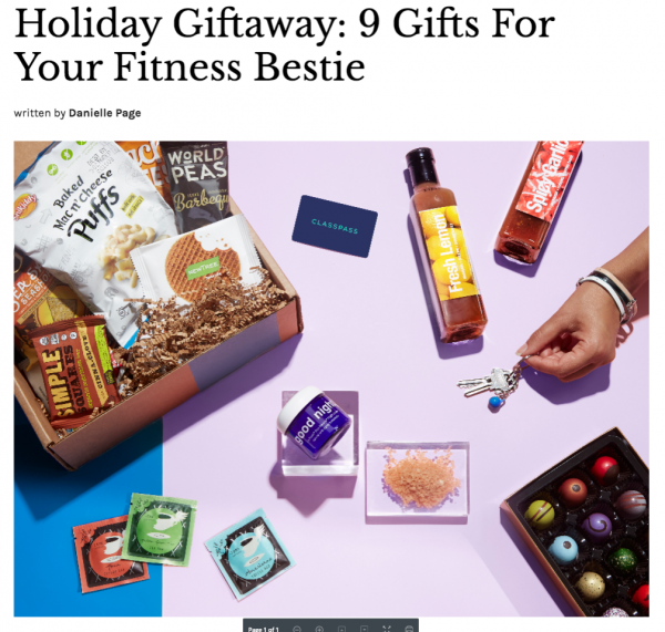 Holiday Giveaway: 9 Gifts For Your Fitness Bestie