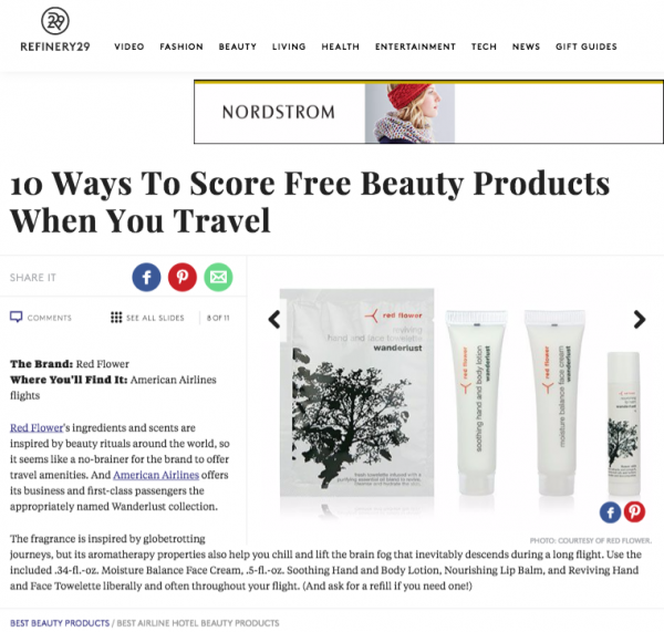 10 Ways To Score Free Beauty ProductsWhen You Travel
