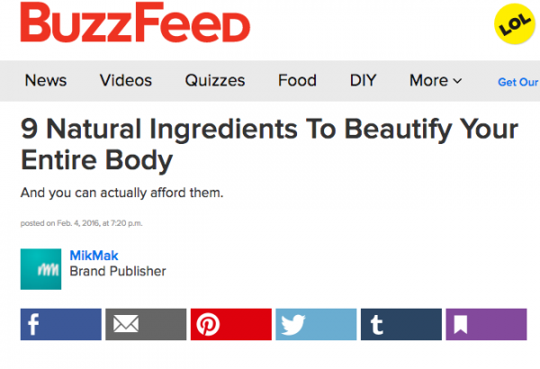 9 Natural Ingredients To Beautify Your Entire Body