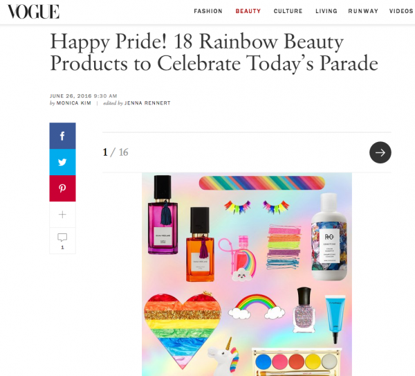 Happy Pride! 18 Rainbow Beauty Products to Celebrate Today's Parade
