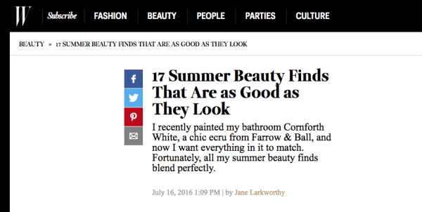 17 Summer Beauty Finds That Are as Good as They Look