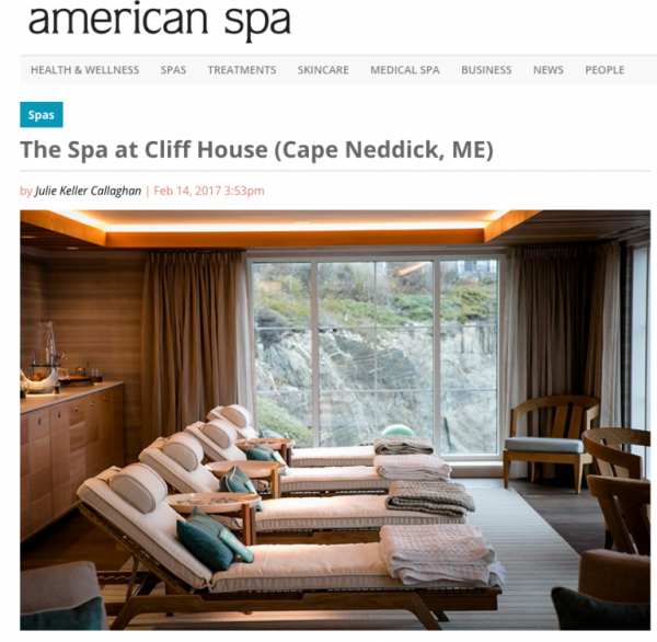 The Spa at Cliff House (Cape Neddick, ME)