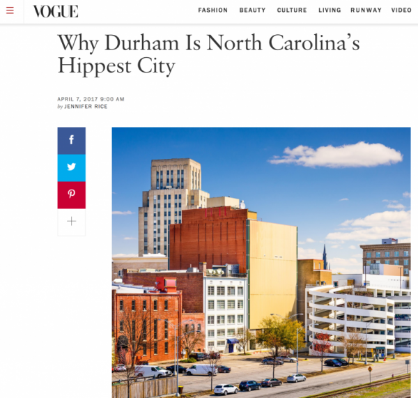 Why Durham Is North Carolina's Hippest City