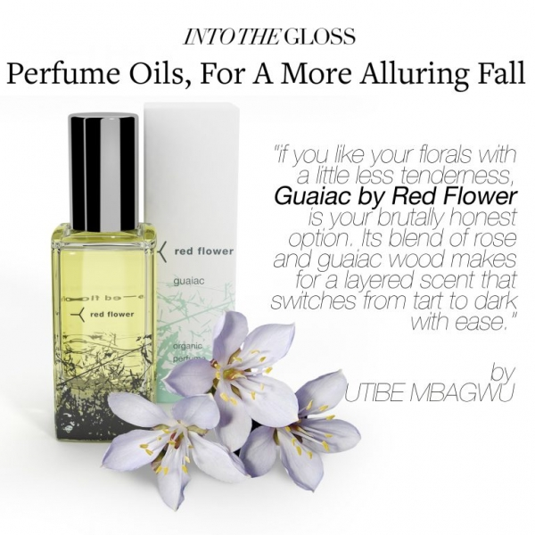 Into the Gloss: Guaiac Perfume