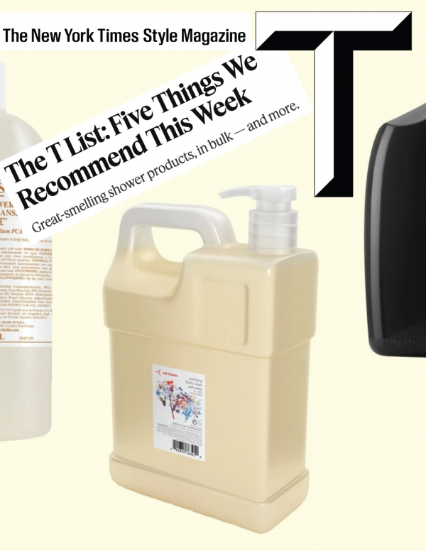 The T List: Five Things We Recommend This Week Great-smelling shower products, in bulk — and more.