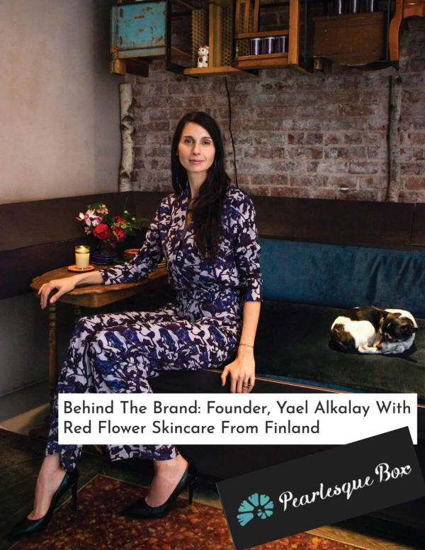 Behind The Brand: Founder, Yael Alkalay With Red Flower Skincare From Finland