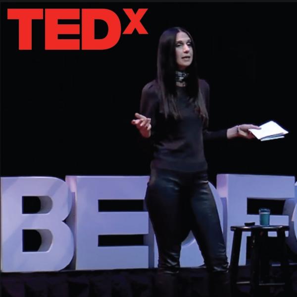 Stroke of Insight: Transforming the Beauty Industry | Yael Alkalay | TEDxNewBedford
